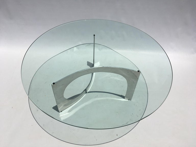 Knut Hesterberg Sculptural Coffee Table In Good Condition For Sale In Opa Locka, FL