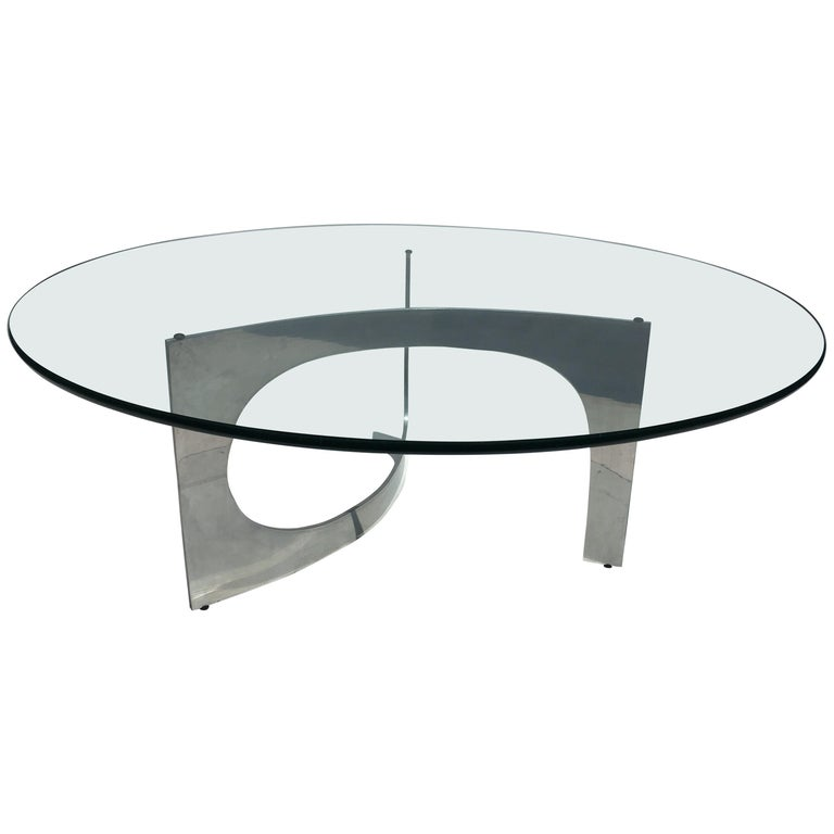 Knut Hesterberg Sculptural Coffee Table For Sale