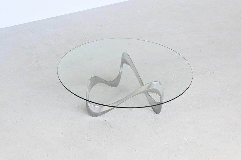Knut Hesterberg Snake Coffee Table Ronald Schmitt, Germany, 1965 3