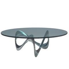 """Cocktailtisch """"Snake Table"""" von Knut Hesterberg"""