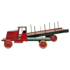Ko Verzuu ADO Toys Houthandel Truck, circa 1940