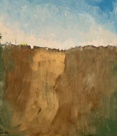 """""""Brown Hills"""" oil on canvas 48"""" x 55"""" by Kobi"""