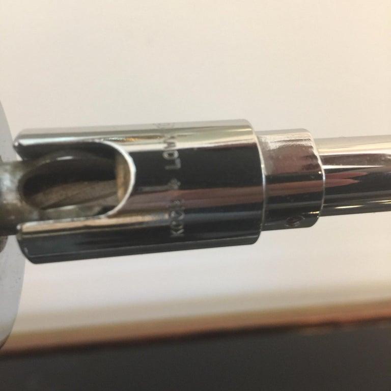 Mid-Century Modern Koch & Lowy Chromed Articulating Desk Lamp For Sale