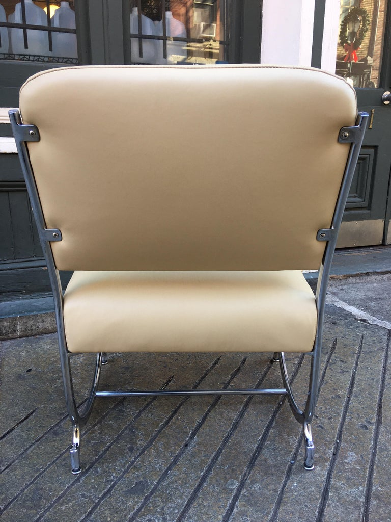 Kochs Chrome Chair In Good Condition For Sale In Philadelphia, PA