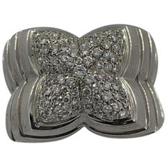 Koesis 18 Karat White Gold Ring with Diamonds '0.59 Carat'
