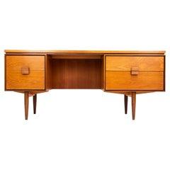 Kofod Larsen Danish Range G Plan Teak Desk Dressing Table