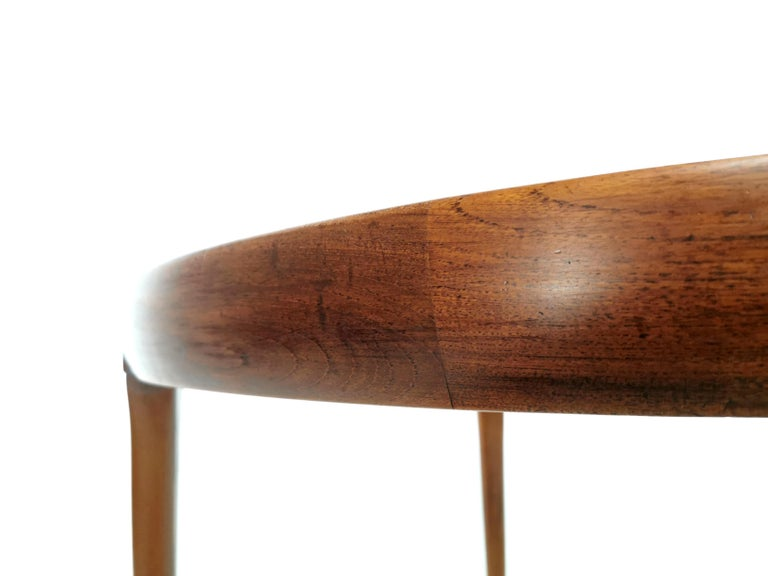 Kofod Larsen For Faarup Teak 1960s Dining Table In Good Condition For Sale In STOKE ON TRENT, GB