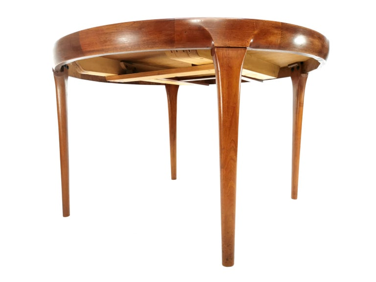 20th Century Kofod Larsen For Faarup Teak 1960s Dining Table For Sale