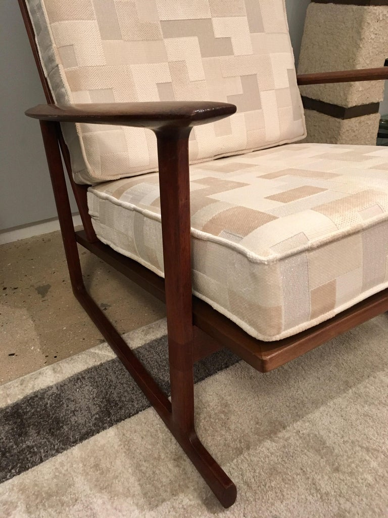 Kofod Larsen High Back Lounge Chair Danish, 1960s For Sale 6