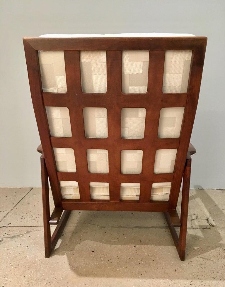 Mid-20th Century Kofod Larsen High Back Lounge Chair Danish, 1960s For Sale