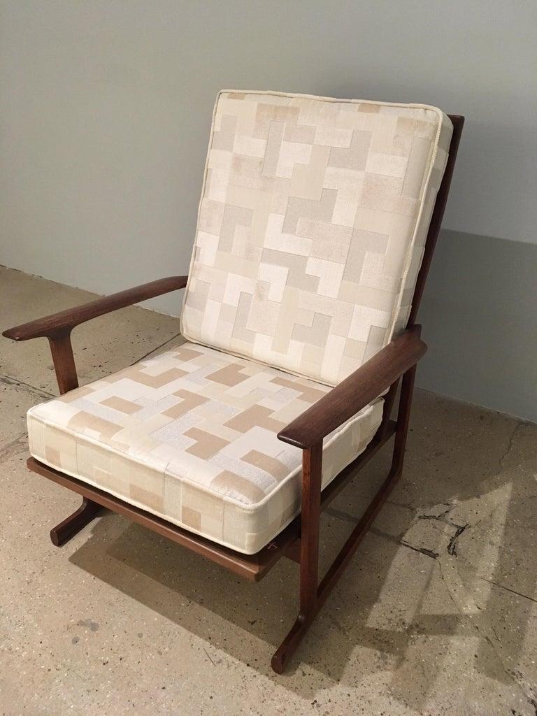 Kofod Larsen High Back Lounge Chair Danish, 1960s For Sale 2