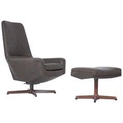 1960's Kofod Larsen Lounge Chair