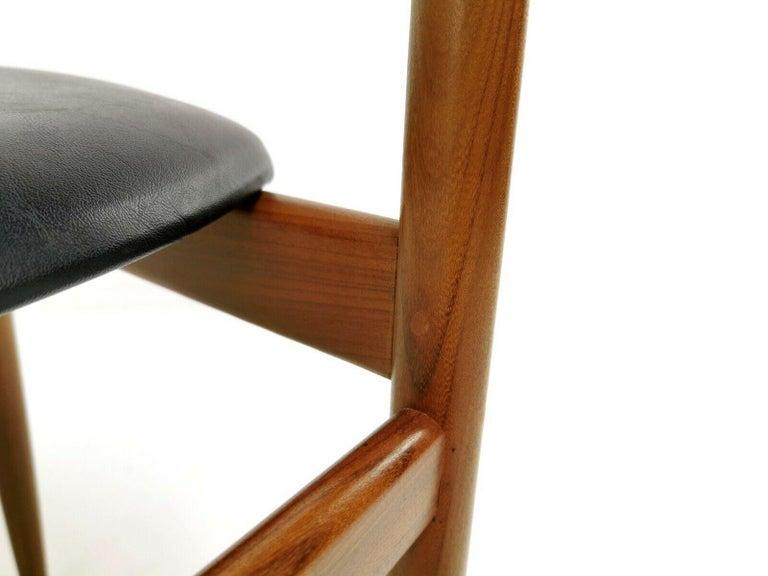 Kofod Larsen Teak G Plan Danish Dining Chairs 1960s Vintage Midcentury Set of 4 3