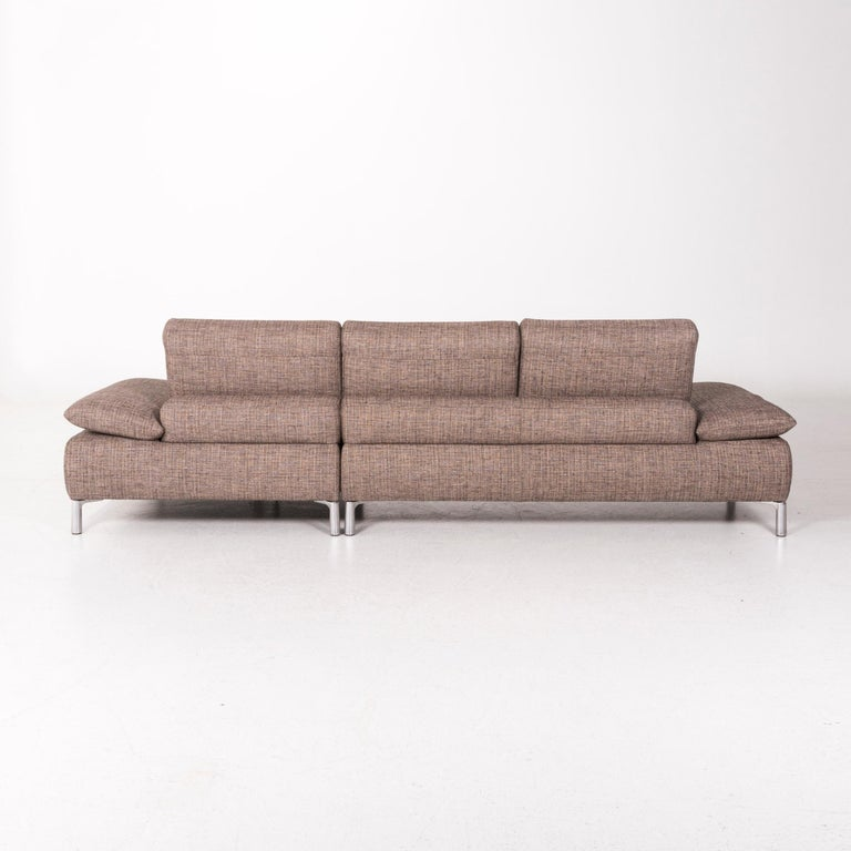 Koinor Fabric Corner Sofa Brown Sofa Function Couch For Sale 6