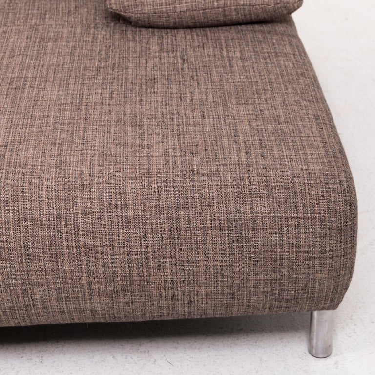 Modern Koinor Fabric Corner Sofa Brown Sofa Function Couch For Sale