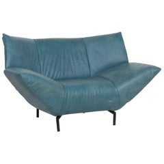 Koinor Leather Armchair Turquoise