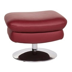 Koinor Leather Stool Brown