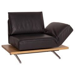 Koinor Phoenix Leather Armchair Gray Two-Seat Function