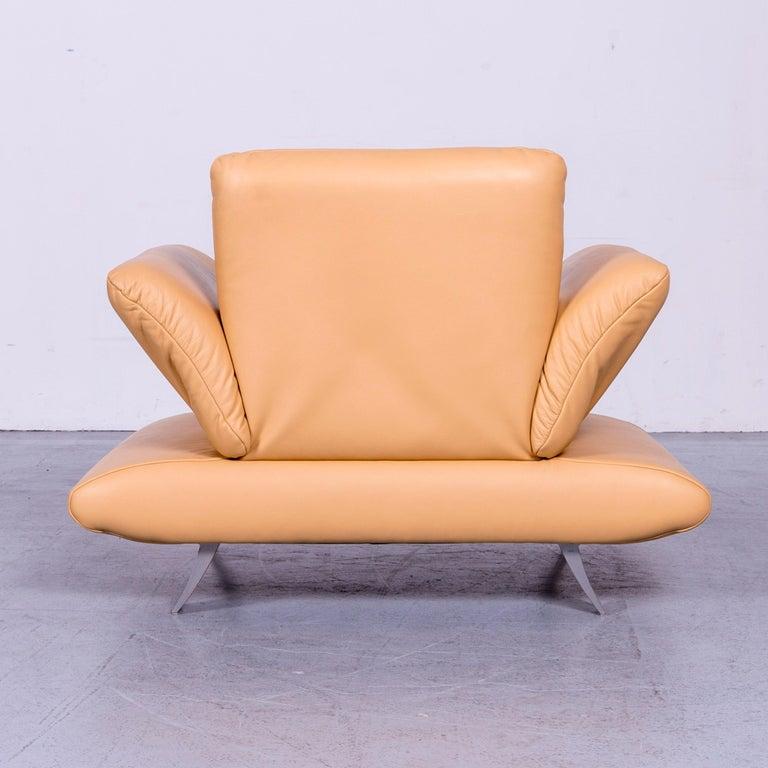 Koinor Rossini Designer Leather Armchair Beige One Seat 1
