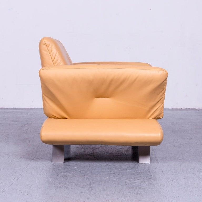 Koinor Rossini Designer Leather Armchair Beige One Seat 2