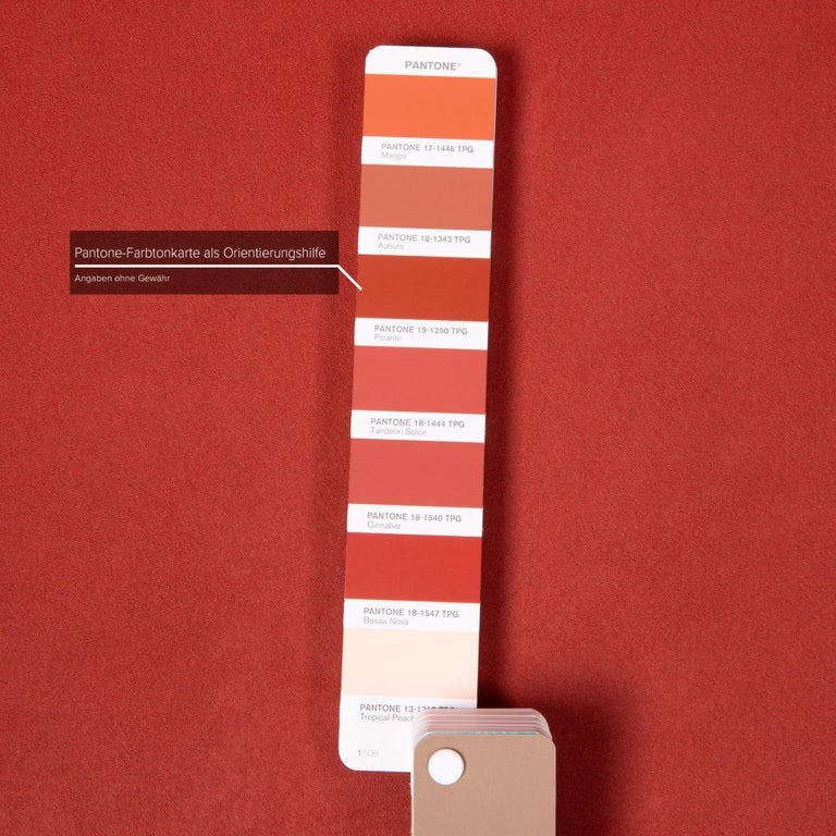 Koinor Rossini Fabric Sofa Orange Two-Seater Function In Good Condition For Sale In Cologne, DE