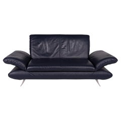 Koinor Rossini Leather Sofa Blue Two-Seat