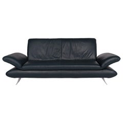 Koinor Rossini Leather Sofa Green Three-Seat