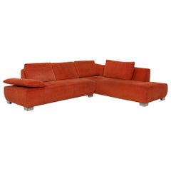 Koinor Volare Fabric Sofa Orange Corner Function