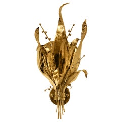 Koket Botanica Sconce in Polished Brass