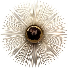 Koket Brilliance Sconce in Brass