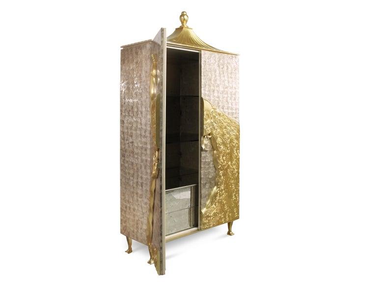 Art Deco Camilia Armoire For Sale