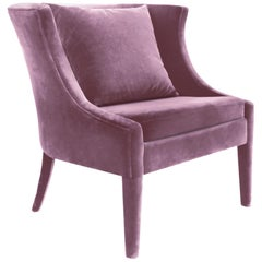 Koket Chignon Chair in Velvet