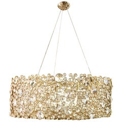 Koket Eternity I Chandelier in Gold Plated Brass