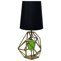 Koket Gem Table Lamp in Brass