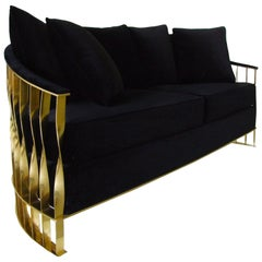 Koket Mandy Sofa in Velvet