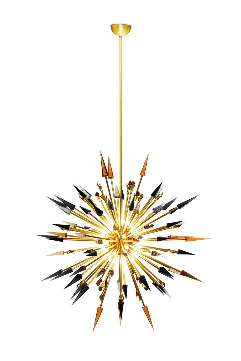 Art Deco Outburst Chandelier For Sale