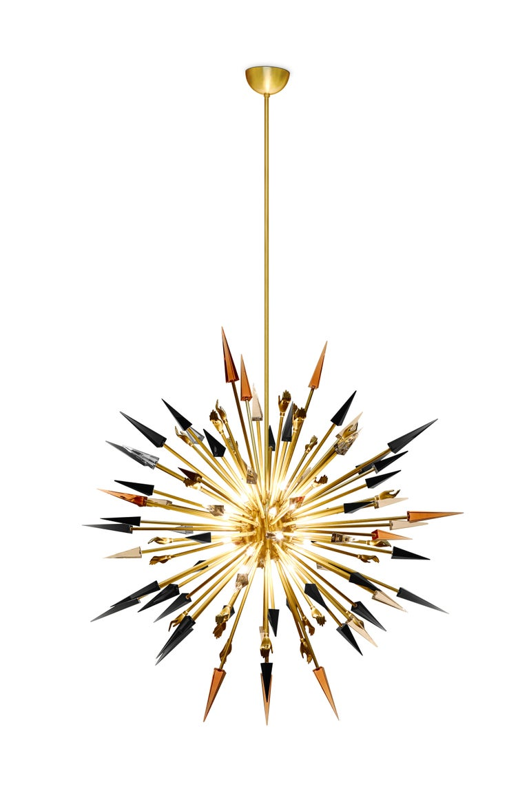 Contemporary Outburst Chandelier For Sale