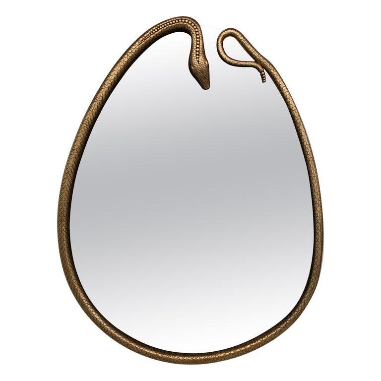 Serpentine Mirror For Sale