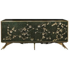 Koket Spellbound Cabinet with Gold Detail