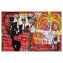 Kokian Painting, « Coco Dance 'Back Room' », 2010