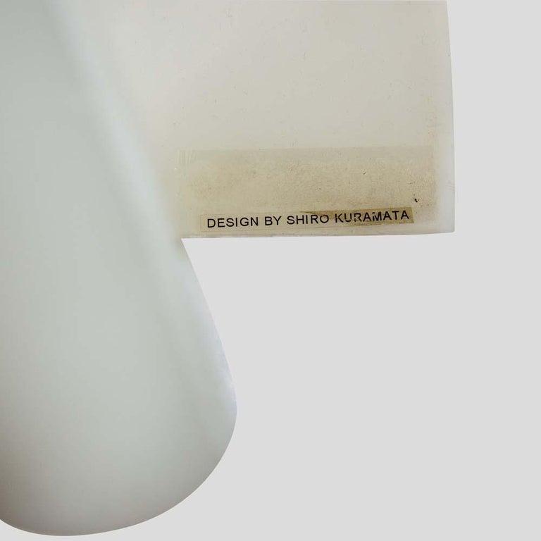 Koko Ghost Lamp Japanese Design by Shiro Kuramata for Yamagiwa White Acrilic For Sale 1