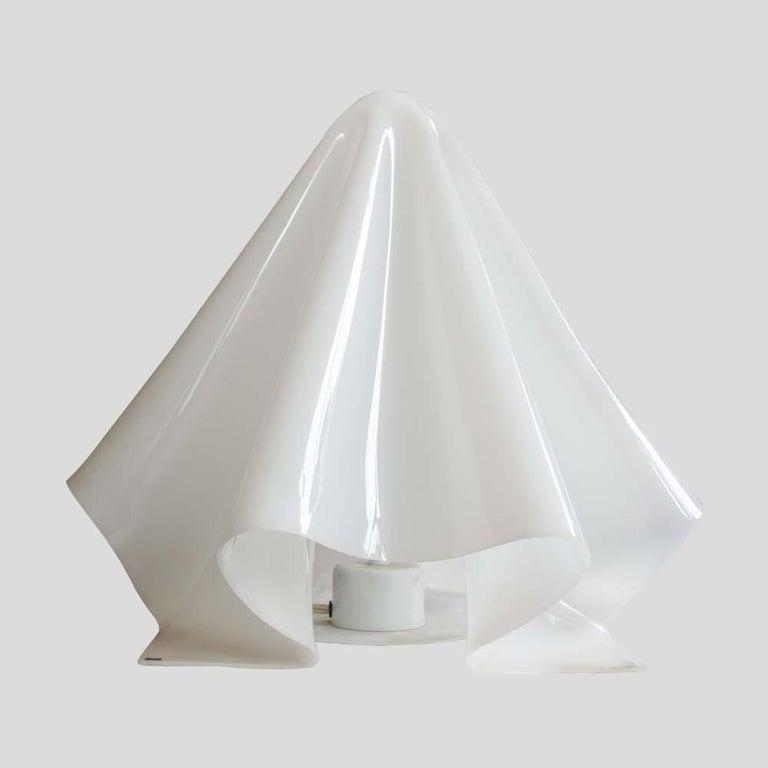 Koko Ghost Lamp Japanese Design by Shiro Kuramata for Yamagiwa White Acrilic For Sale 2