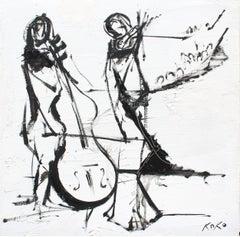 Duet, musician series.