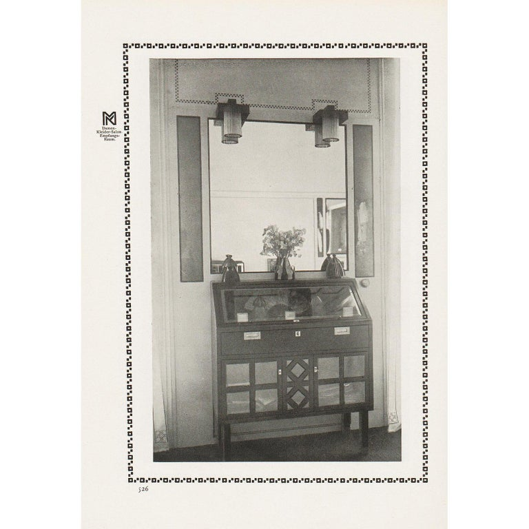 For the fashion saloon of the Floege-sisters, early 20th century  All components according to the UL regulations, with an additional charge we will UL-list and label our fixtures.