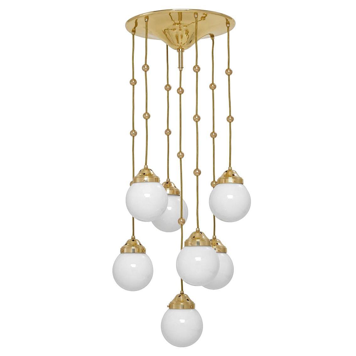 Koloman Moser, Josef Hoffmann & Wiener Werkstätte Ceiling Lamp, Re-Edition