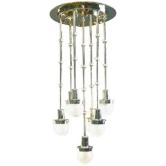 "Koloman Moser/Otto Wagner ""Steinhof Church"" Chandelier Re-Edition"