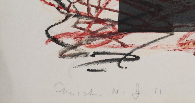 Artist: Vitaly Komar, Russian (1943 - ) and Alexander Melamid, Russian (1945 - ) Title: Church, NJ Year: 1991 Medium: Etching, signed, numbered, dated, and tilted in pencil  Paper Size: 30 x 53 in. (76.2 x 134.62 cm)