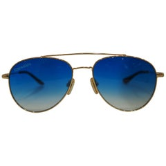 Kommafa blue lens sunglasses