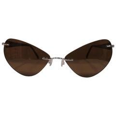 Kommafa brown lens sunglasses