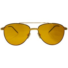 Kommafa orange lens sunglasses